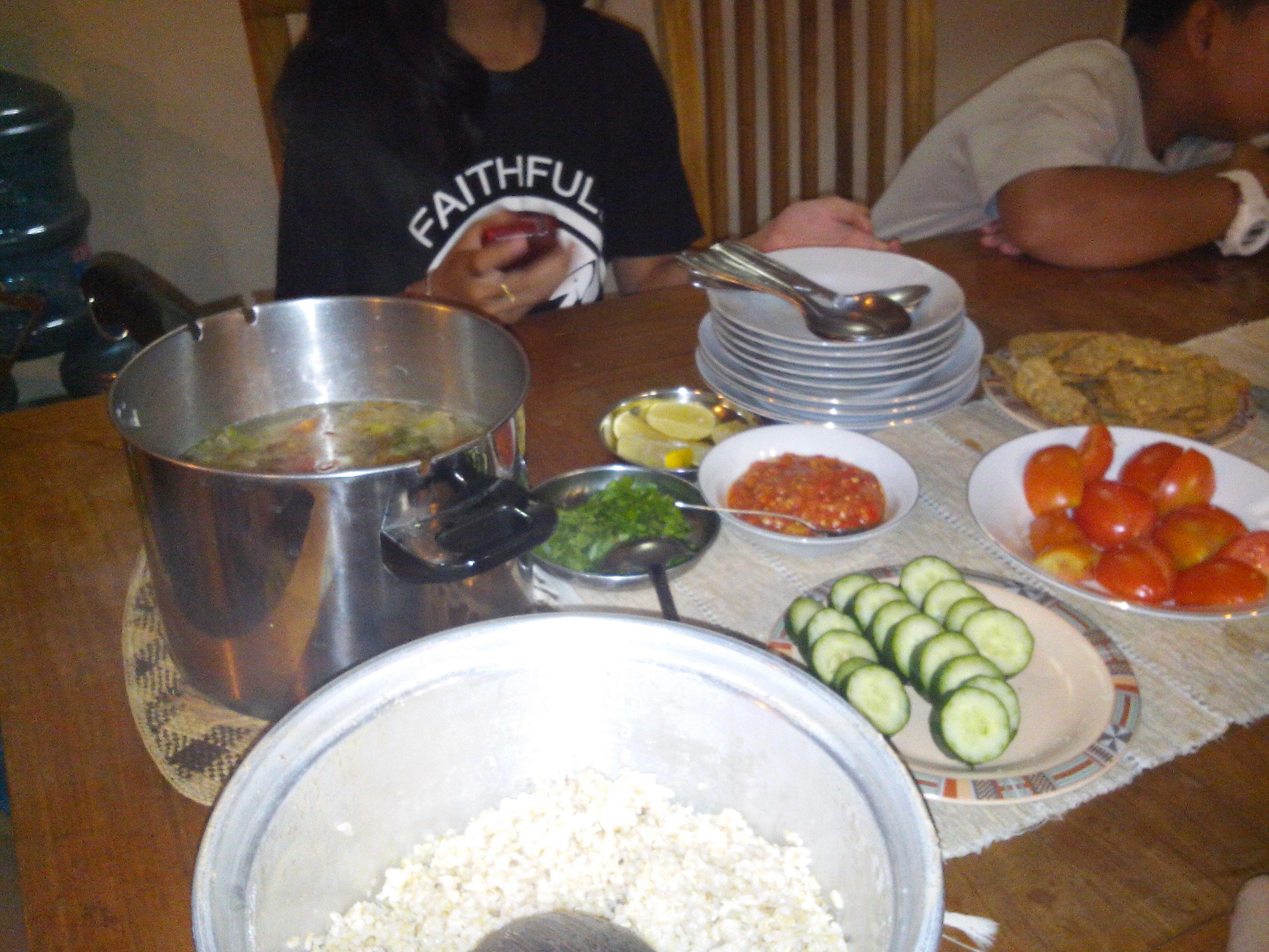 Makanan masak sendiri
